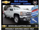 2013 Summit White Chevrolet Silverado 1500 LT Crew Cab 4x4 #77675545