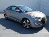 2013 Titanium Gray Metallic Hyundai Elantra Coupe SE #77675180