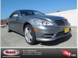 2013 Palladium Silver Metallic Mercedes-Benz S 350 BlueTEC 4Matic #77675080