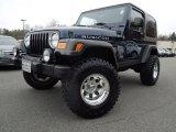 2006 Midnight Blue Pearl Jeep Wrangler Rubicon 4x4 #77675356