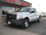2010 Ingot Silver Metallic Ford F150 XL SuperCab 4x4 #77675529