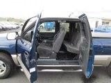 2001 Chevrolet Silverado 1500 Z71 Extended Cab 4x4 Graphite Interior