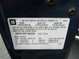 2001 Chevrolet Silverado 1500 Z71 Extended Cab 4x4 Info Tag