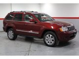 2008 Red Rock Crystal Pearl Jeep Grand Cherokee Limited 4x4 #77675349