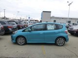 2013 Blue Raspberry Metallic Honda Fit Sport #77675433