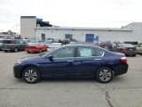 2013 Obsidian Blue Pearl Honda Accord LX Sedan #77675429