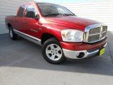 2007 Dodge Ram 1500 Inferno Red Crystal Pearl