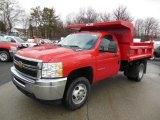 2013 Chevrolet Silverado 3500HD WT Regular Cab 4x4 Dump Truck Data, Info and Specs