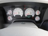 2007 Dodge Ram 1500 SLT Quad Cab Gauges