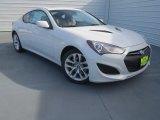 2013 White Satin Pearl Hyundai Genesis Coupe 2.0T Premium #77727091