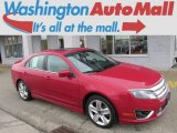 2010 Sangria Red Metallic Ford Fusion Sport #77727015