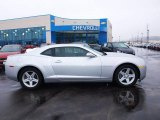 2012 Silver Ice Metallic Chevrolet Camaro LT Coupe #77726936