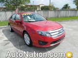 2010 Red Candy Metallic Ford Fusion SE #77727206