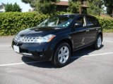 2006 Super Black Nissan Murano S #7739671