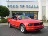 2006 Torch Red Ford Mustang V6 Premium Convertible #776108