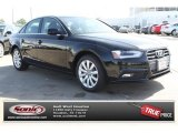 2013 Brilliant Black Audi A4 2.0T quattro Sedan #77727126