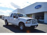 2004 Oxford White Ford F250 Super Duty XLT SuperCab #77727041