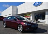 2013 Bordeaux Reserve Red Metallic Ford Fusion SE 1.6 EcoBoost #77727039