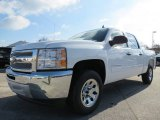 Summit White Chevrolet Silverado 1500 in 2013