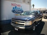 2011 Imperial Blue Metallic Chevrolet Silverado 1500 LS Extended Cab #77761608