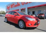 2012 Race Red Ford Focus SEL 5-Door #77761594