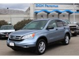 2010 Glacier Blue Metallic Honda CR-V EX AWD #77762149