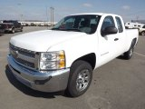 2013 Summit White Chevrolet Silverado 1500 Work Truck Extended Cab #77761931