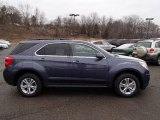 2013 Atlantis Blue Metallic Chevrolet Equinox LT AWD #77761698