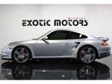 2007 GT Silver Metallic Porsche 911 Turbo Coupe #77762218
