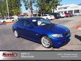 2010 Montego Blue Metallic BMW 3 Series 335i Sedan #77761799
