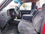 2000 Chevrolet Silverado 1500 LS Regular Cab 4x4 Front Seat