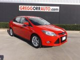 2012 Race Red Ford Focus SEL Sedan #77761917