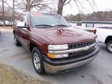 2000 Chevrolet Silverado 1500 Dark Carmine Red Metallic