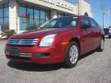 2008 Redfire Metallic Ford Fusion S #77761554