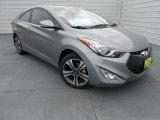 2013 Titanium Gray Metallic Hyundai Elantra Coupe SE #77761788