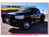 2009 Brilliant Black Crystal Pearl Dodge Ram 3500 SLT Mega Cab 4x4 Dually #77761907