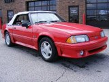 1991 Ford Mustang Medium Red