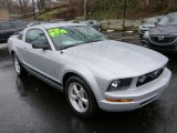 2007 Ford Mustang Satin Silver Metallic