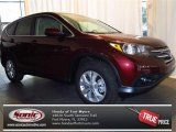 2013 Basque Red Pearl II Honda CR-V EX #77761511