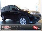 2013 Crystal Black Pearl Honda CR-V EX #77761510