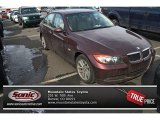 2007 Barrique Red Metallic BMW 3 Series 328xi Sedan #77819096