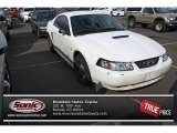 2002 Oxford White Ford Mustang V6 Coupe #77819086
