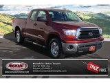 2010 Salsa Red Pearl Toyota Tundra Double Cab 4x4 #77819083