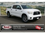 2013 Super White Toyota Tundra TRD Rock Warrior CrewMax 4x4 #77819078