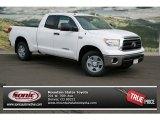 2013 Super White Toyota Tundra Double Cab 4x4 #77819075