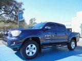 2012 Nautical Blue Metallic Toyota Tacoma V6 TRD Sport Prerunner Double Cab #77819399