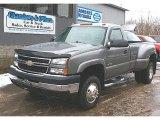 2006 Graystone Metallic Chevrolet Silverado 3500 LT Regular Cab 4x4 Dually #77819548