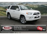 2013 Blizzard White Pearl Toyota 4Runner Limited 4x4 #77819061