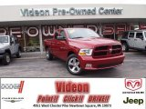 2012 Deep Cherry Red Crystal Pearl Dodge Ram 1500 Express Quad Cab 4x4 #77820129