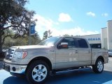 2013 Pale Adobe Metallic Ford F150 Lariat SuperCrew #77819383